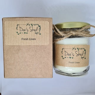Jar Candle - Fresh Linen