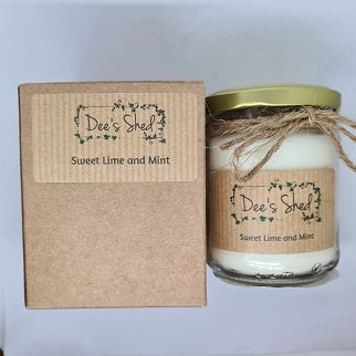 Jar Candle - Sweet Lime and Mint