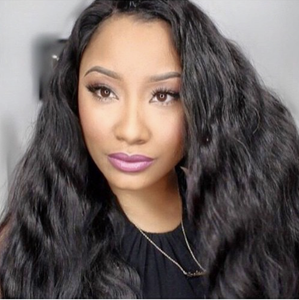 Pre Bleached Best Natural Virgin Body Wave Hair Full Lace Wig