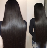Pre Bleached Knots Best Brazilian Virgin Straight Hair Front Lace Wig