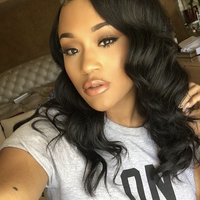 Pre Bleached Knots Body Wave Best Virgin Full Lace Wigs