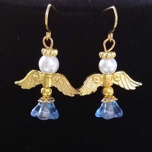 Angel Necklace and Earring Set
