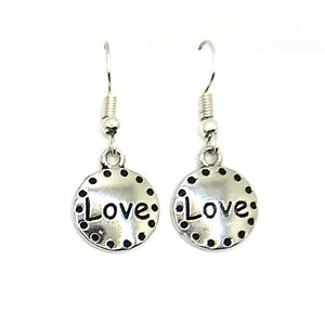 Love Earrings, 2 Color Options