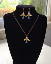 Load image into Gallery viewer, Angel Necklace and Earring Set