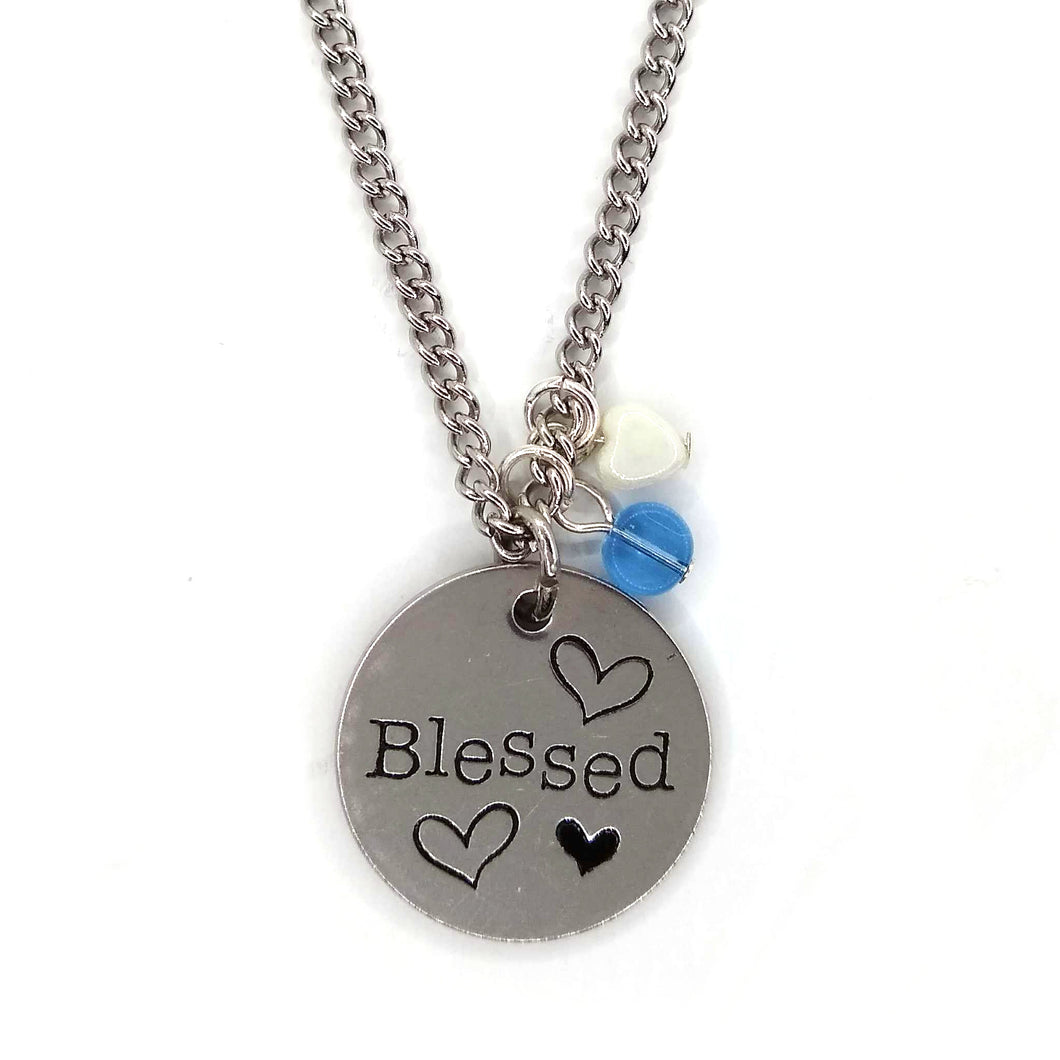 Blessed Pendant Necklace