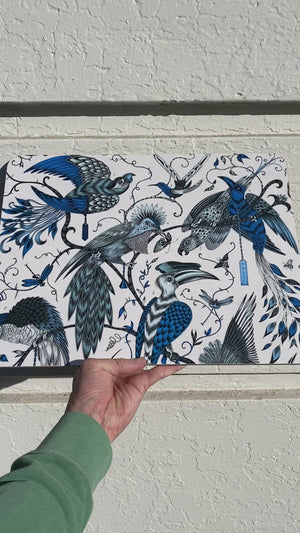 Audubon Placemat - Blue