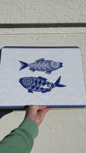 Shoal of Fish cork-backed Placemat
