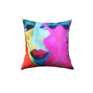 CUSHION, LADIES (RED)