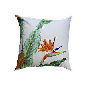 STRELITZIA, GREEN - CUSHION