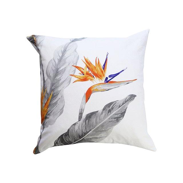 CUSHION, STRELITZIA