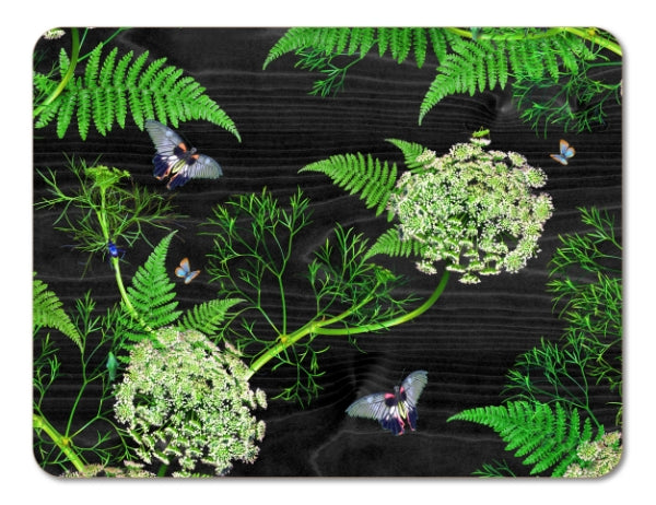 Dill Placemat - Black
