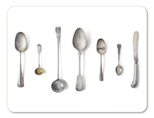 Cutlery placemat by Michael Angove