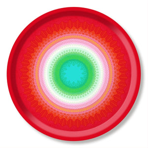 Fiesta inspiered red tray