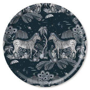 LOST WORLD, NAVY - TRAY ROUND
