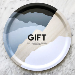 SÄY WHAT, GIFT - TRAY ROUND