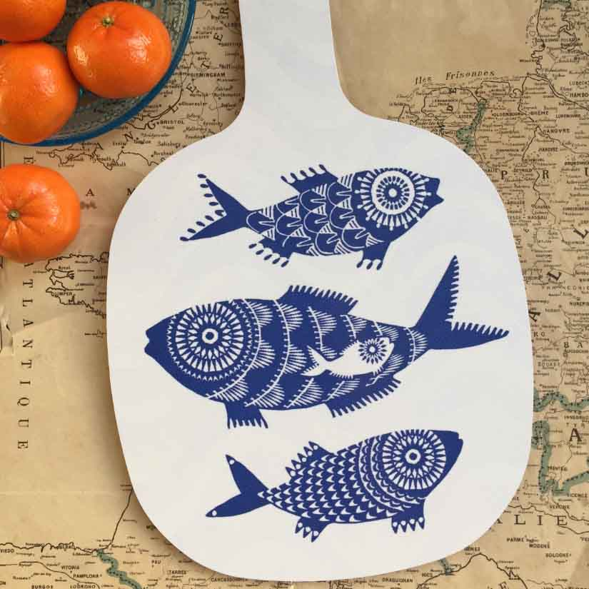 Shoal of Fish Chopping Board