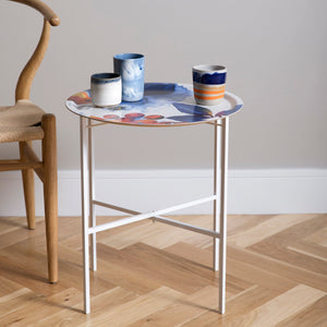 BLOMBÄR, BLUE - TRAY TABLE