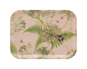 Dill birchwood tray by Michael Angove
