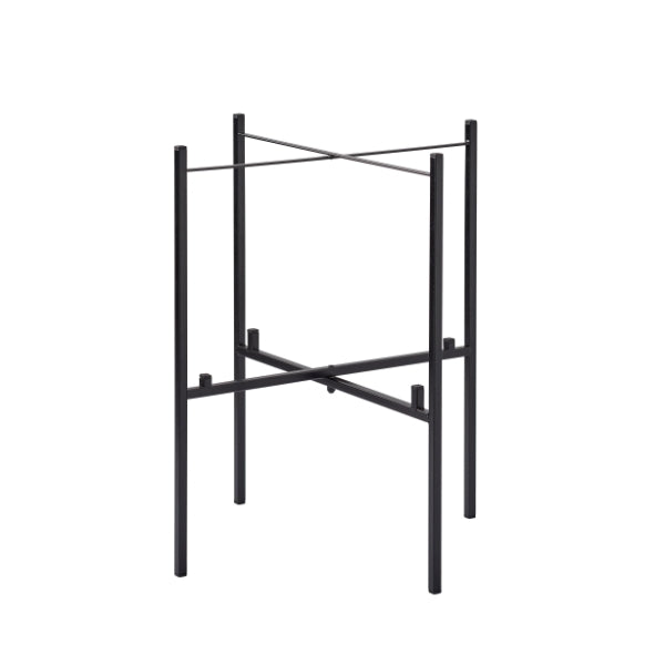 Tray Table Stand for 2 Trays - Black