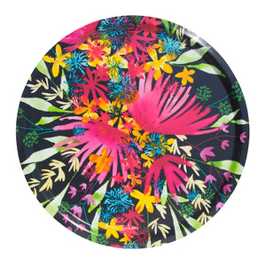 FLOWERS - TRAY ROUND