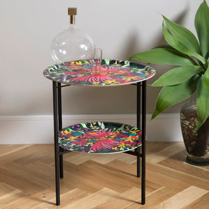 Flowers folding coffee table