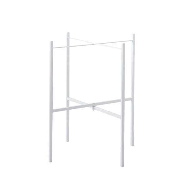 TRAY TABLE STAND FOR 1 TRAY, WHITE