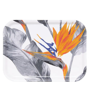 TRAY, STRELITZIA, RECTANGULAR