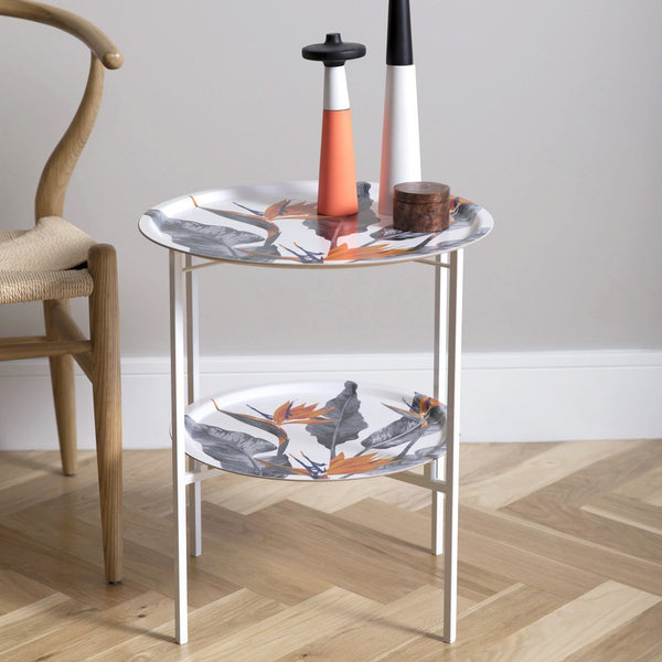 Bird of paradise folding coffee table