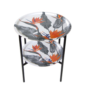 TRAY TABLE, STRELITZIA