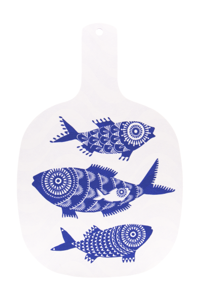 CHOPPING BOARD, SHOAL OF FISH