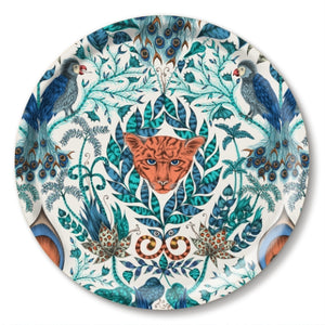 Blue jungle tray by Emma J Shipley