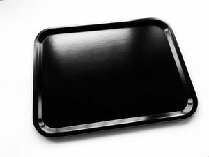 Black birchwood tray