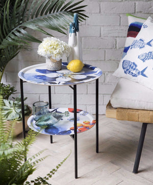 THETRAYSHOP Tray Table Blombär Blue