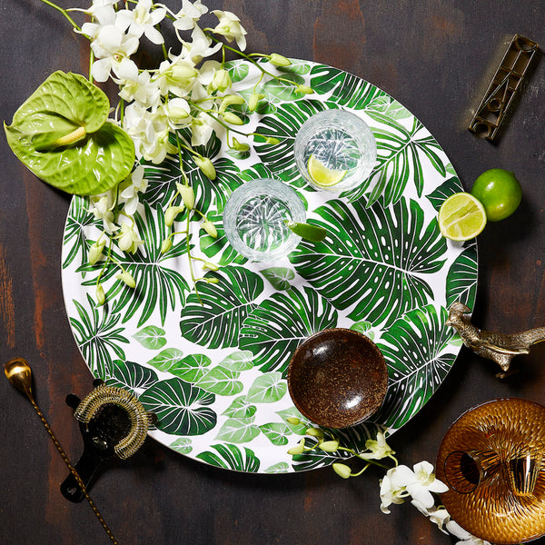 TROPICA - TRAY ROUND