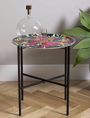SINGLE TRAY STAND (BLACK)