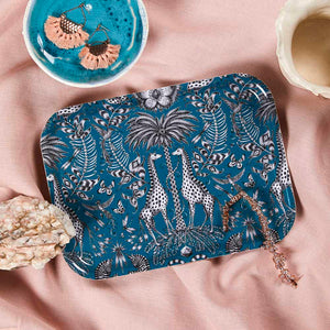 KRUGER, TURQUOISE - TRAY RECT.