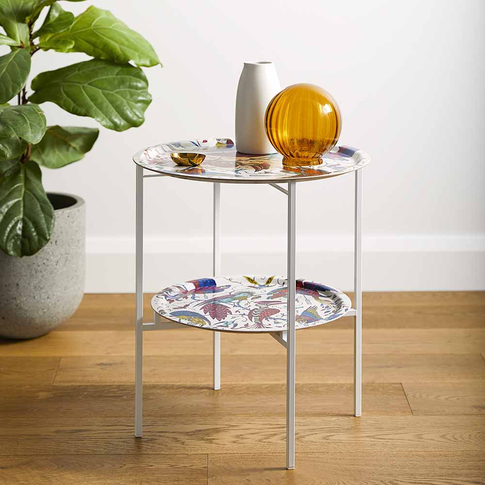 Audubon folding coffe table by Emma J shipley