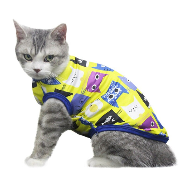 Cat T-Shirt Vests