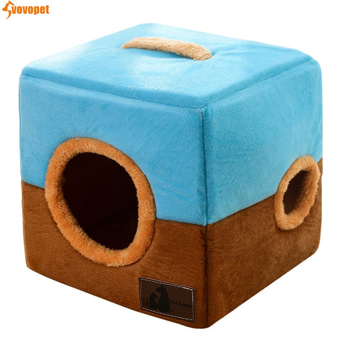 Soft Sleeping Removable Cover Cat Nest Bed