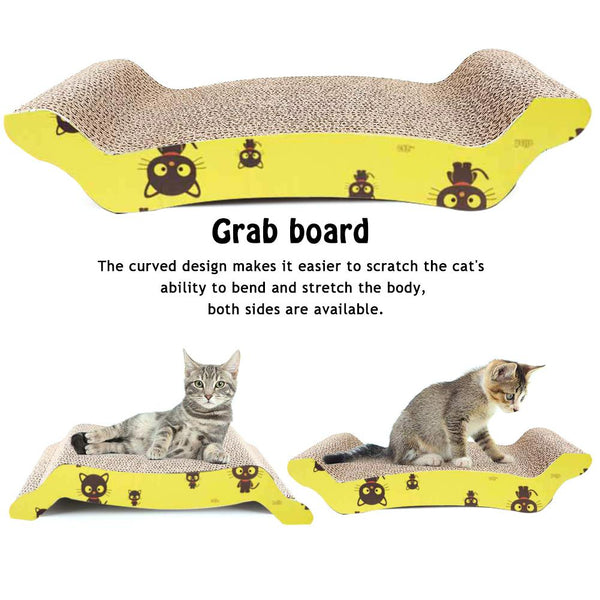 Scratch Board Cat Bed