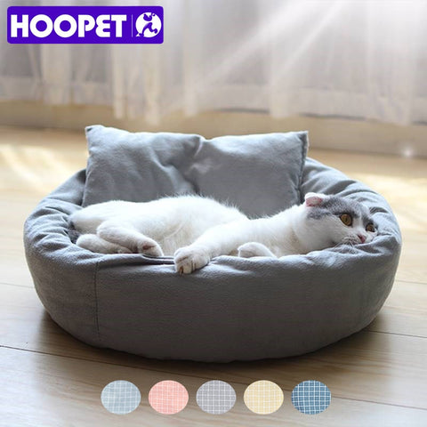 HOOPET Pet Cat Sofa Dog Beds Breathable Bottom Soft Warm Cat Bed House for Small Medium Dogs Pads Products for Dogs