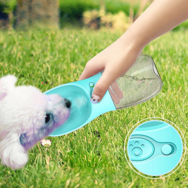 Portable Cat Travel Water Bottle