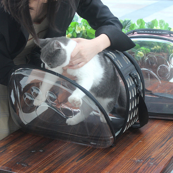 Foldable Cat Shoulder Carrier