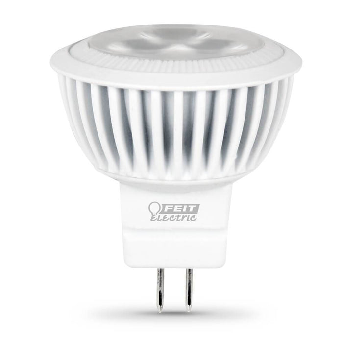 MR11 Spot 38Degree Beam Spread LED Bulb - 3000K - GU4 Bi-Pin Base - 4W - FEIT