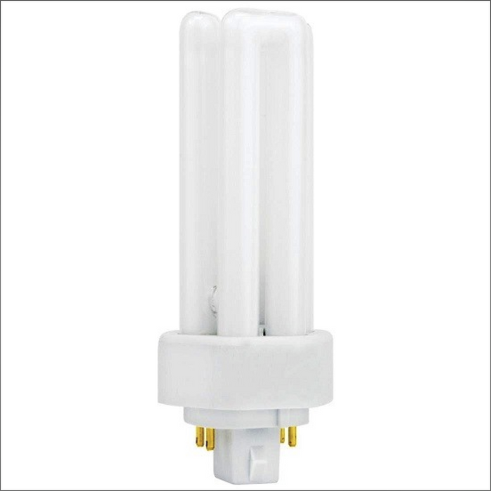 T4 Triple Tube for Electronic or Dimming Ballasts - 4100K - GX24q-4 Four Pin Base - 42W - Sylvania