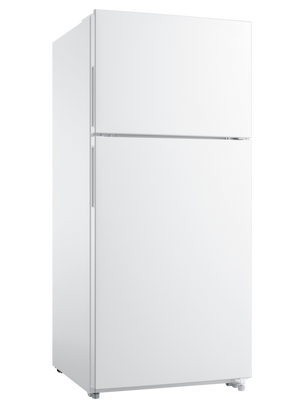 "18.0 Cu. Ft. Top Freezer Refrigerator - 30""W - White - Frigidaire"