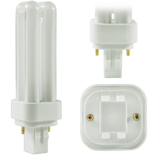 Quad Tube Compact Fluorescent Bulb - GX32D-2 Two Pin Base - 22W - FEIT