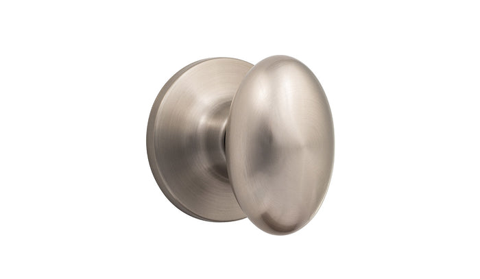 Oval Door Knob, Dummy, Handelset, Passage, Privacy - Arapaho - Ridgecrest Mountain