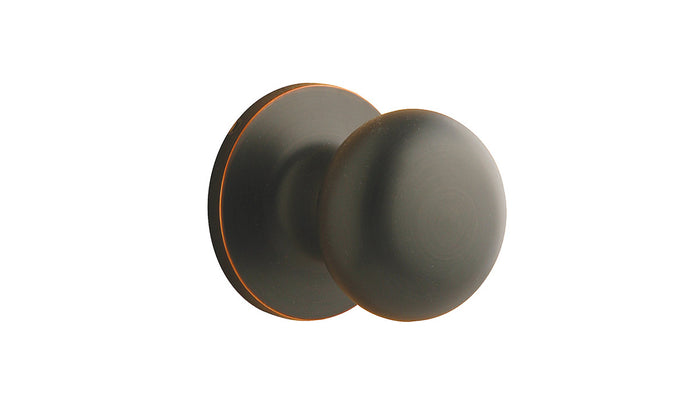 Round Door Knob, Dummy, Handelset, Passage, Privacy - Durango - Ridgecrest Mountain
