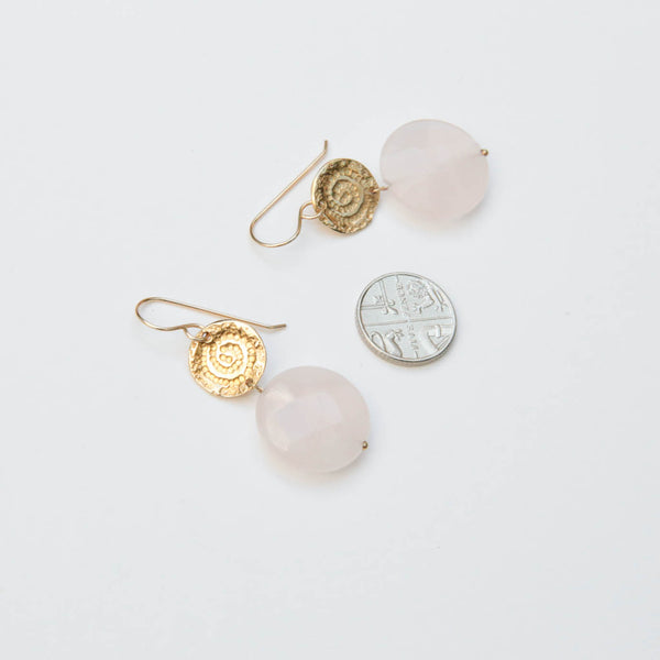 Athena Rose Earrings